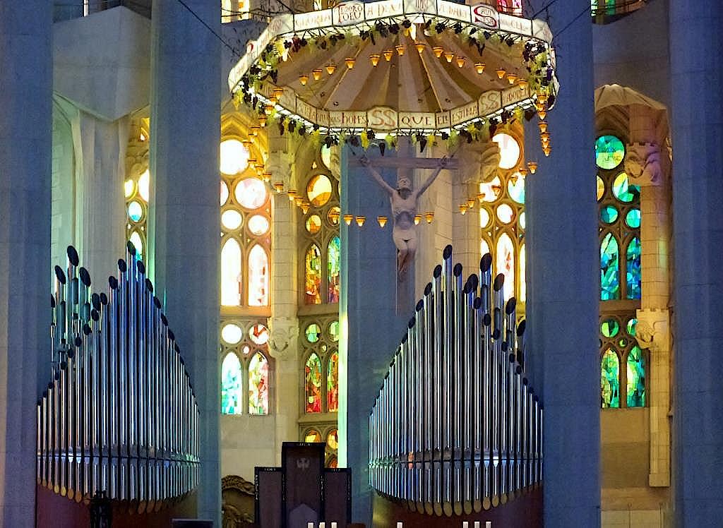Orgel-in-der-Sagrada-Familia