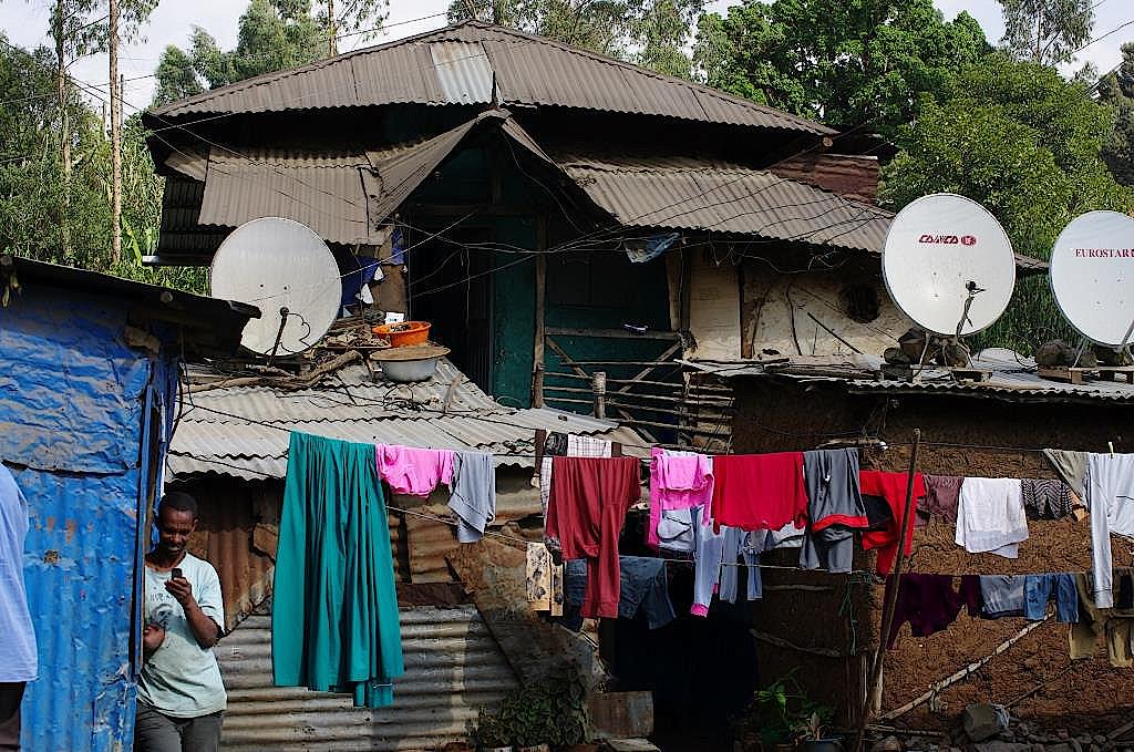 Am Stadtrand von Addis Abeba