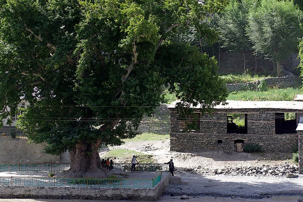 Dorf-in-Afghanistan