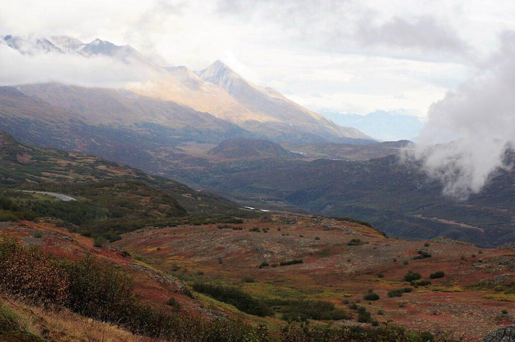 Farbige Bergwelt