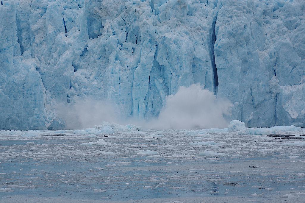 Alaska-Kalbender-Gletscher