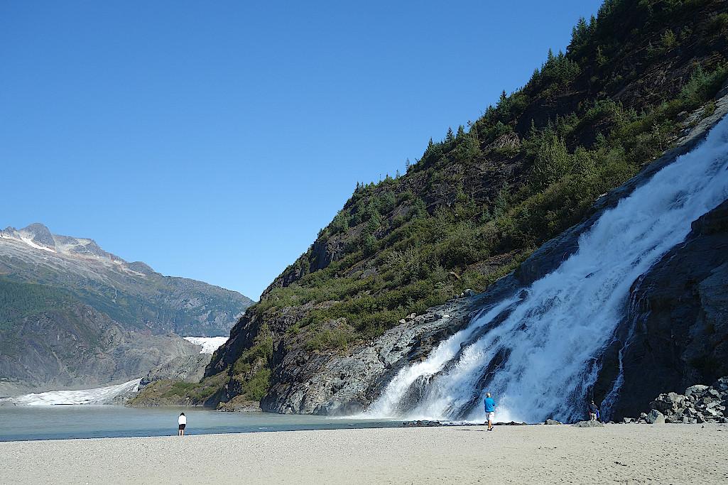 Mendenhall-Gletscher-Alaska