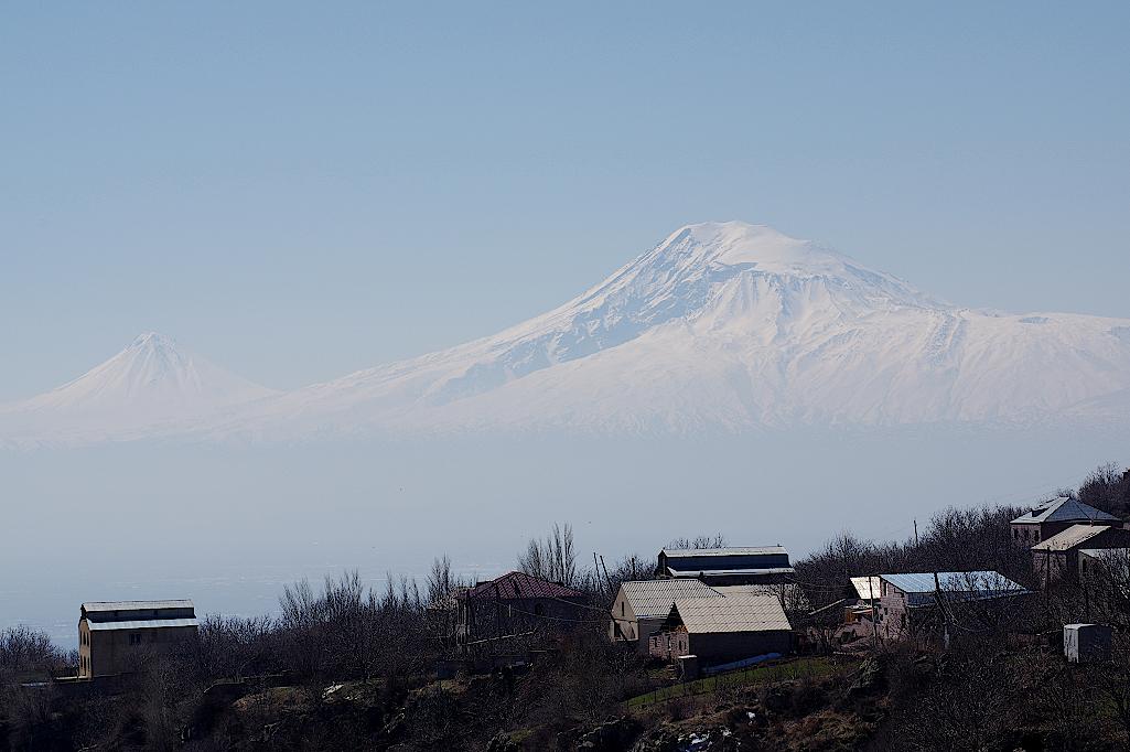 Den Ararat im Blick