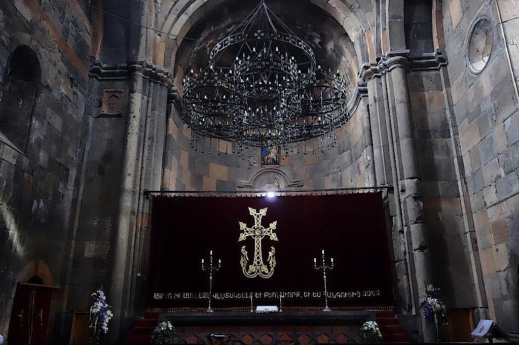 Altar im Kloster Howhannavank
