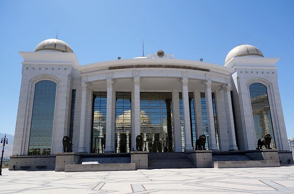 Aschgabat-Palast-des-Wissens