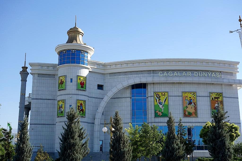 Turkmenistan-Aschgabat-Puppentheater