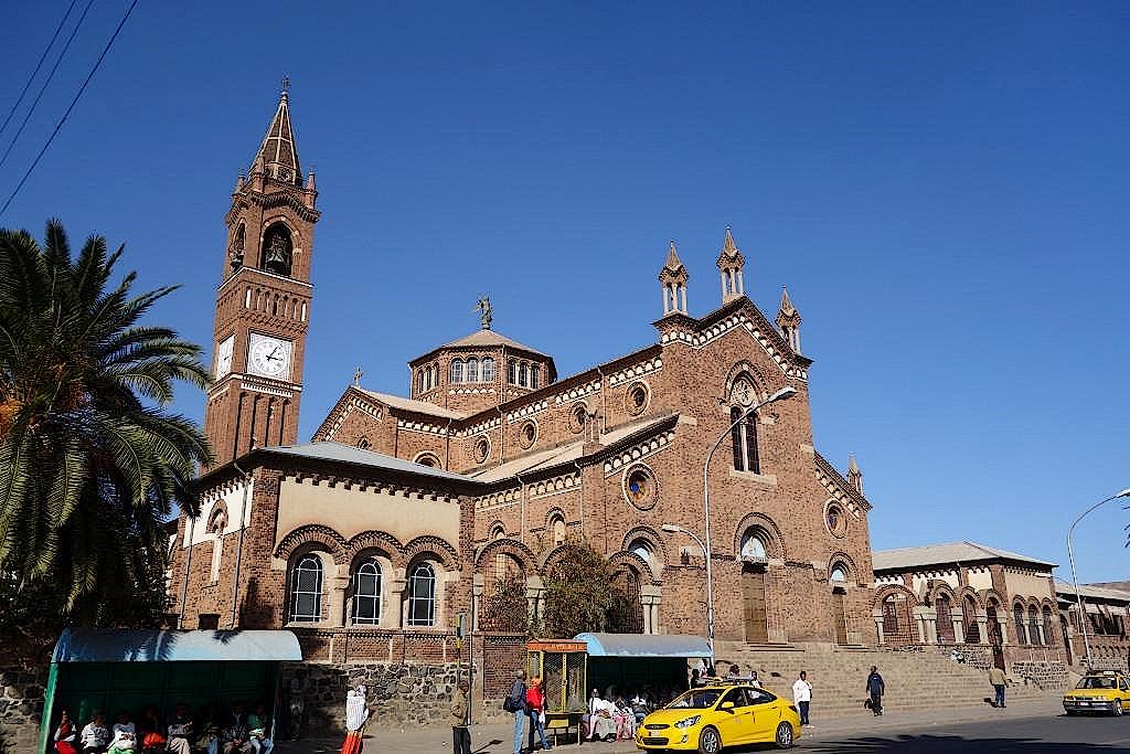 Eritrea-Asmara-Katholische-Kathedrale