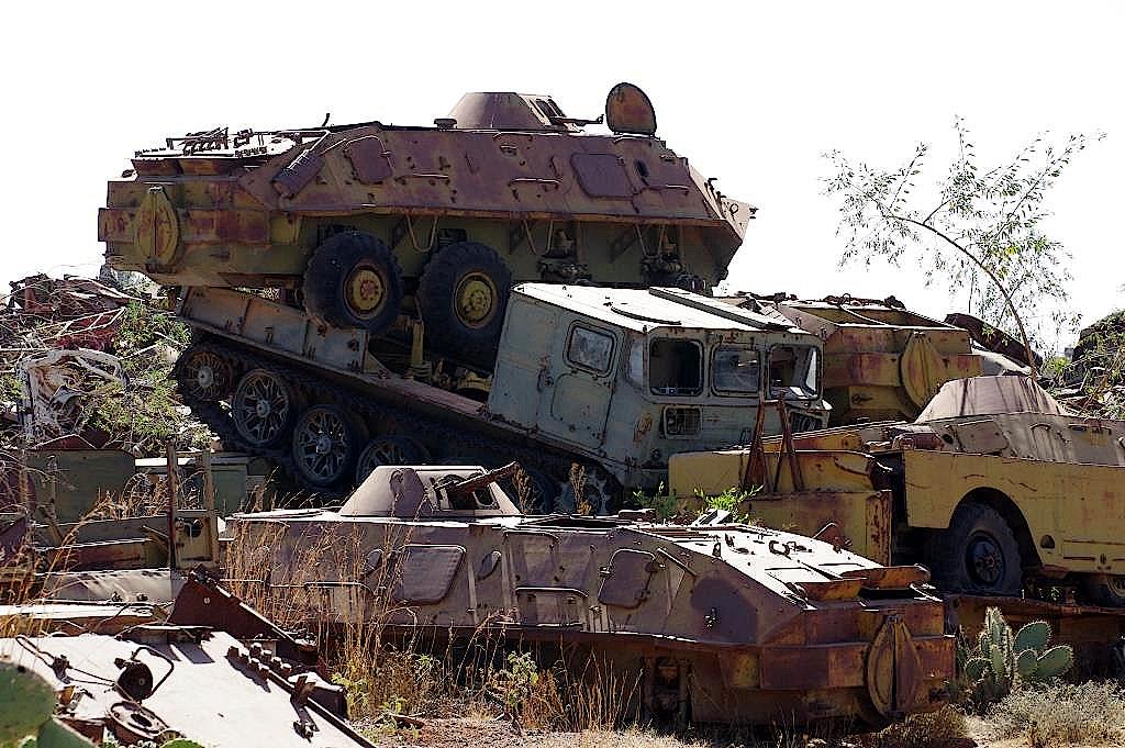 Eritrea-Panzerfriedhof