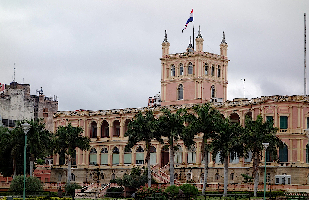 Asuncion-Regierungspalast