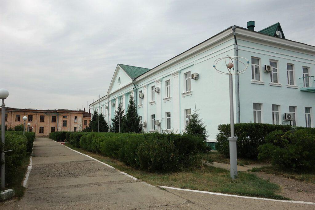 Atomforschungszentrum-in-Kurtschatov-Kasachstan