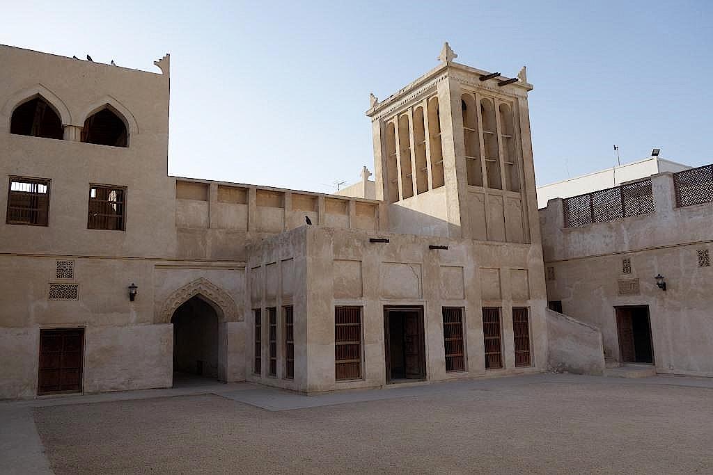 Bahrain-Perlenweg-Haus des Kalifen