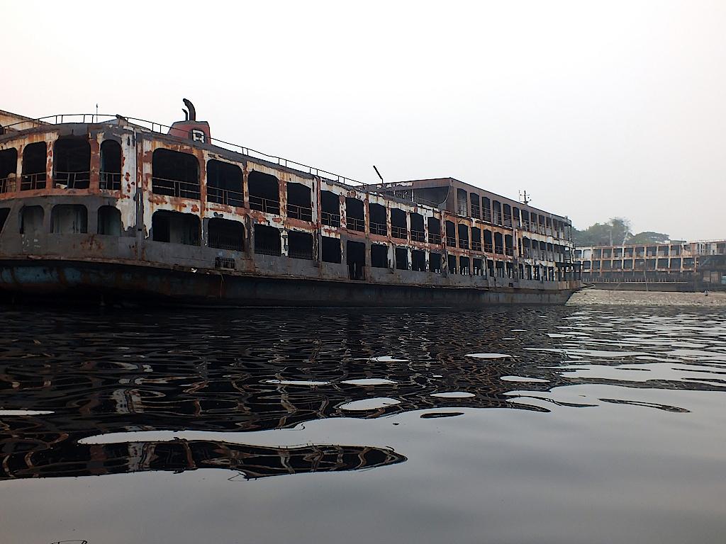 Bangladesch-Dhaka-Hafen