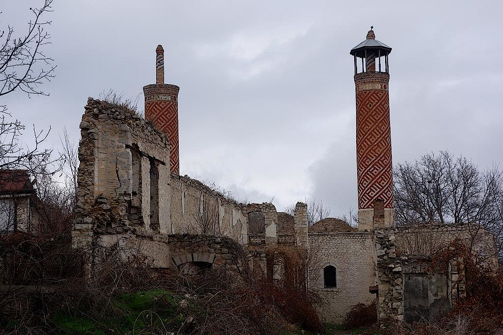 Zerstörte Moschee