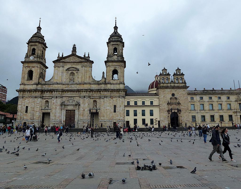 Kolumbien-Bogota-Kathedrale
