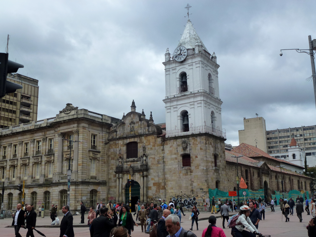 Kolumbien-Bogota-Kirche-des-Heiligen-Franziskus