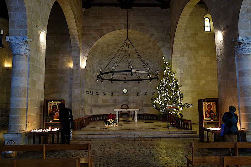 Brotvermehrungskirche-Tabgha-Israel