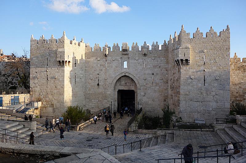 Damaskus-Tor-Jerusalem-Israel