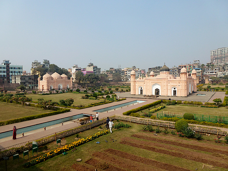 Lalbag-Fort-in-Dhaka-Bangladesch