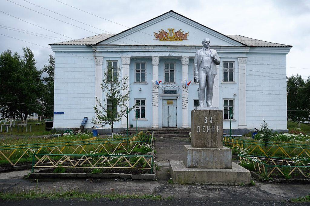 Sibirien-Dorf-Artyk