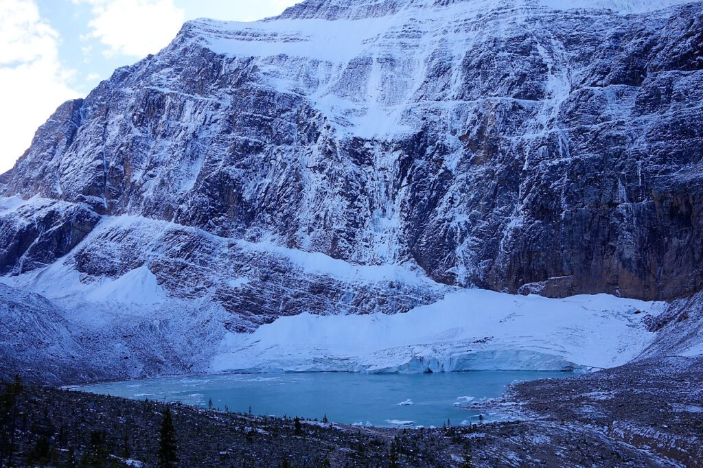 Edith-Cavell-Gletscher-Kanada