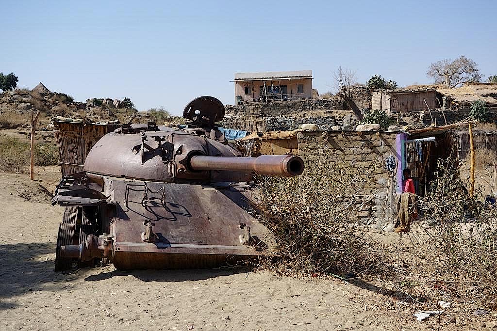 Kinderspielzeug-Panzer-Eritrea