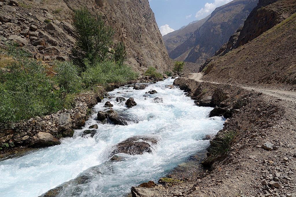 Tadschikistan-Fangebirge