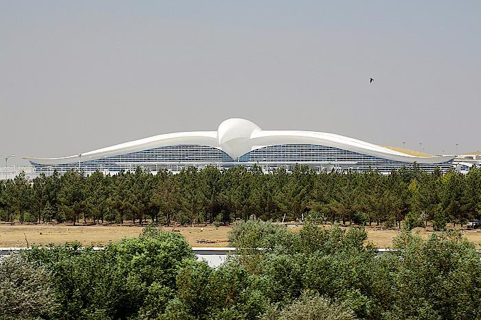 Flughafen-Aschgabat-Turkmenistan