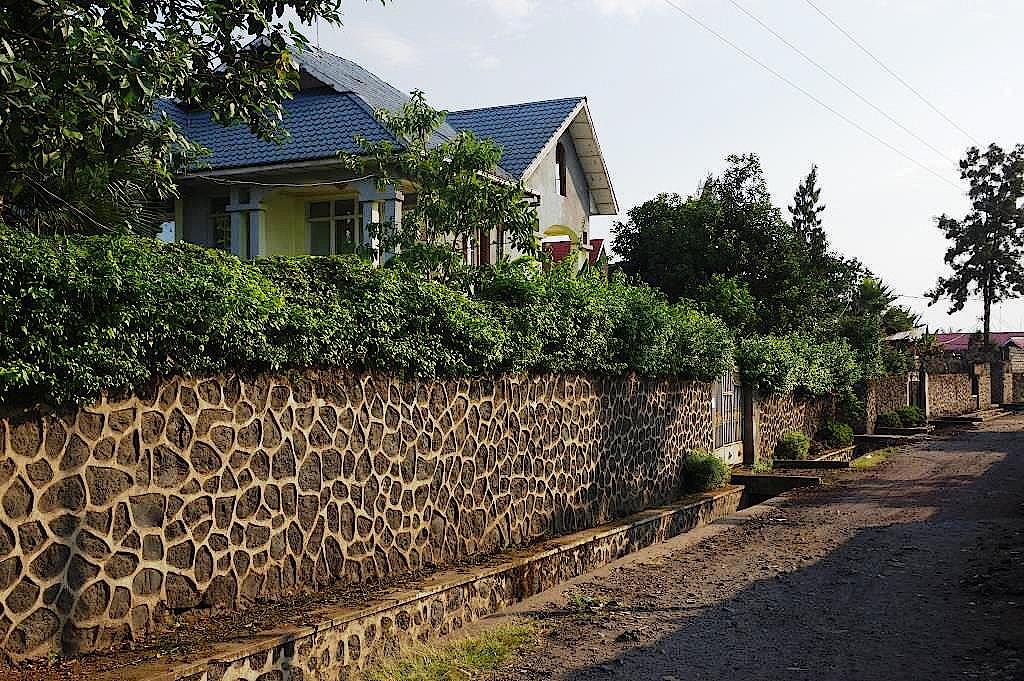 Villenviertel von Goma