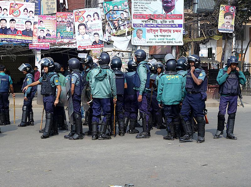 Hartal-in-Bangladesch