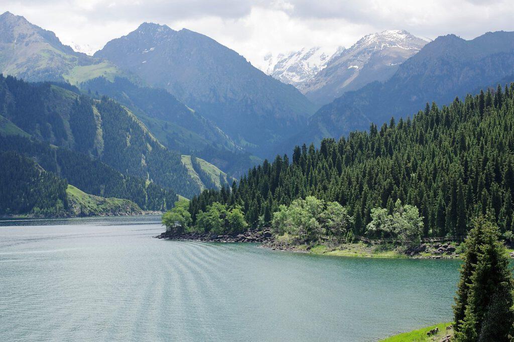 Himmelssee-Tianshan-Gebirge -