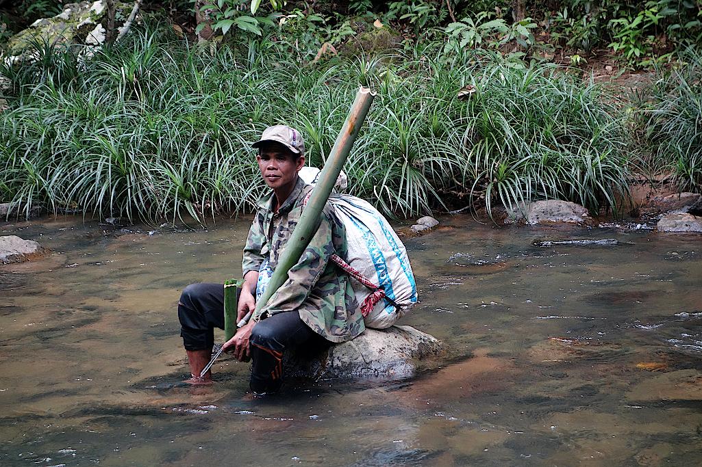 Kambodscha-Dschungelwanderung