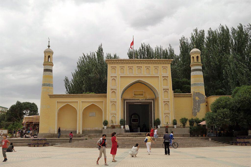 Alte-Moschee-in-Kashgar-Xinjiang