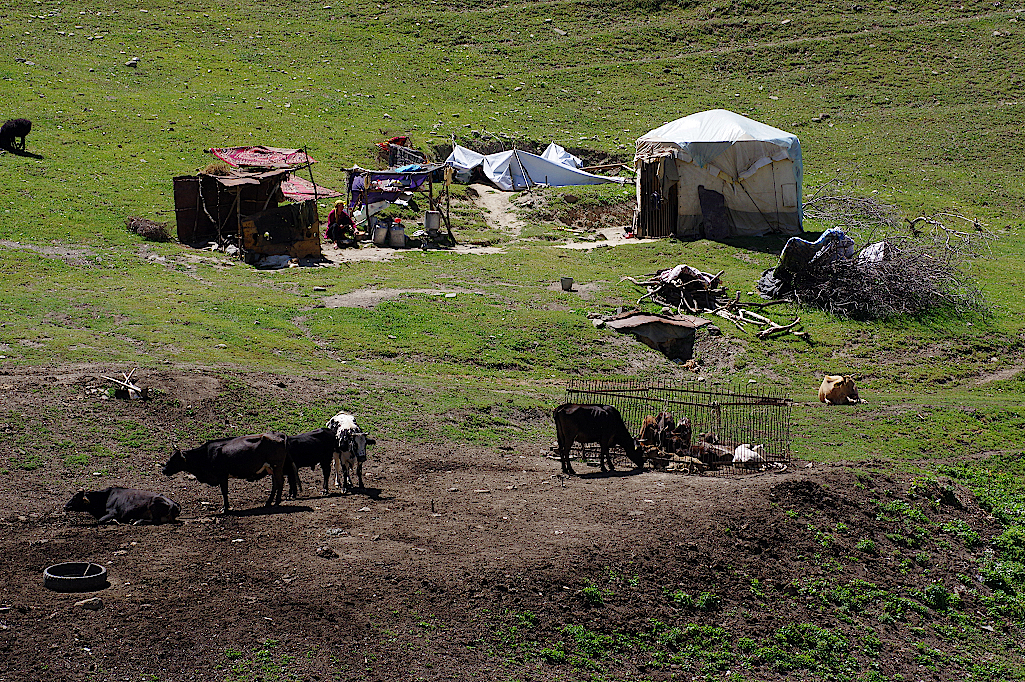 Hirtencamp-in-Kirgistan