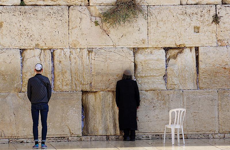 Klagemauer-Jerusalem-Israel