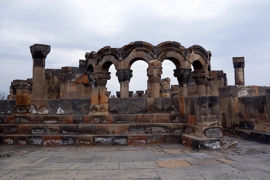 Armenien-Kloster-Zvartnost