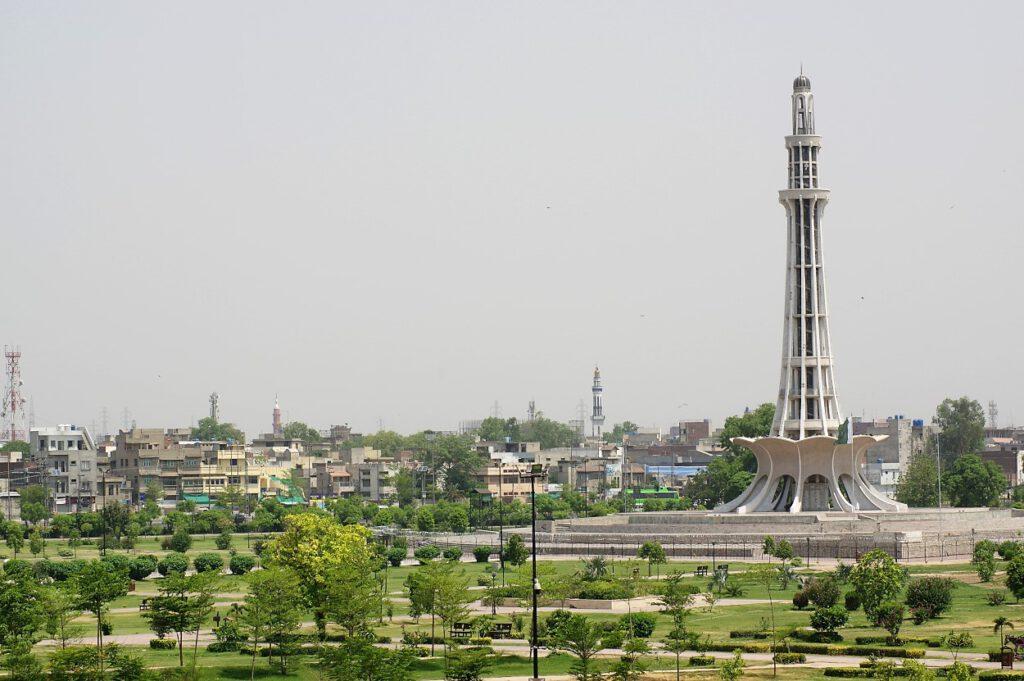 Lahore-Minarett-von-Pakistan