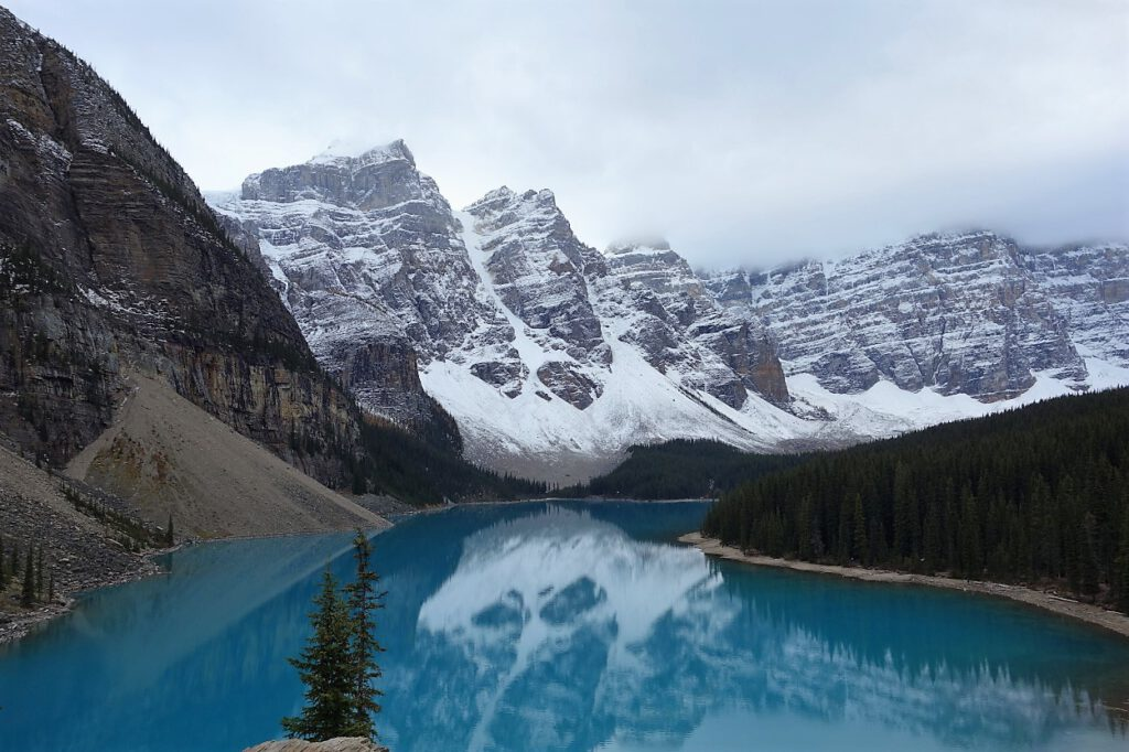 Lake-Moraine-Kanada