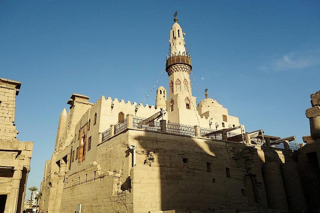 Moschee-im-Luxor-Tempel