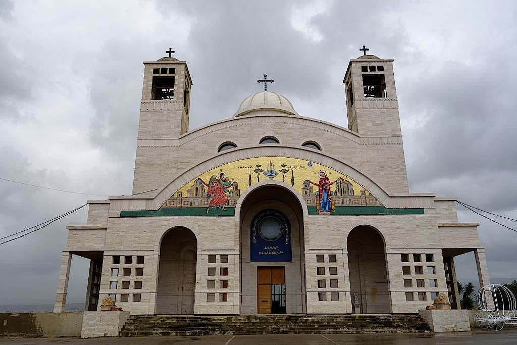 Marien-Wallfahrtsort-Magdouche-Libanon
