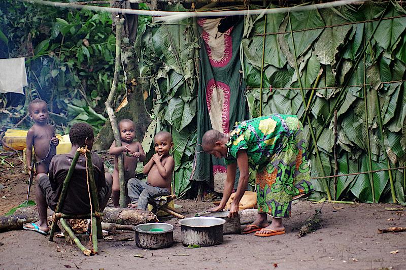 Mbuti-Pygmaeen-DR-Kongo