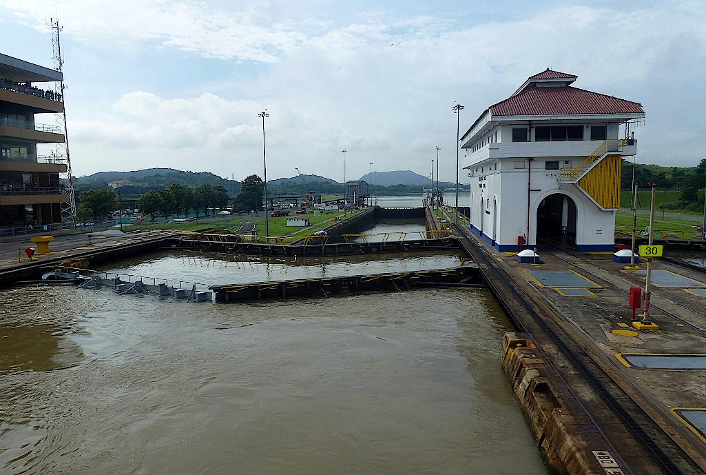 Panama-Kanal-Miraflores-Schleuse