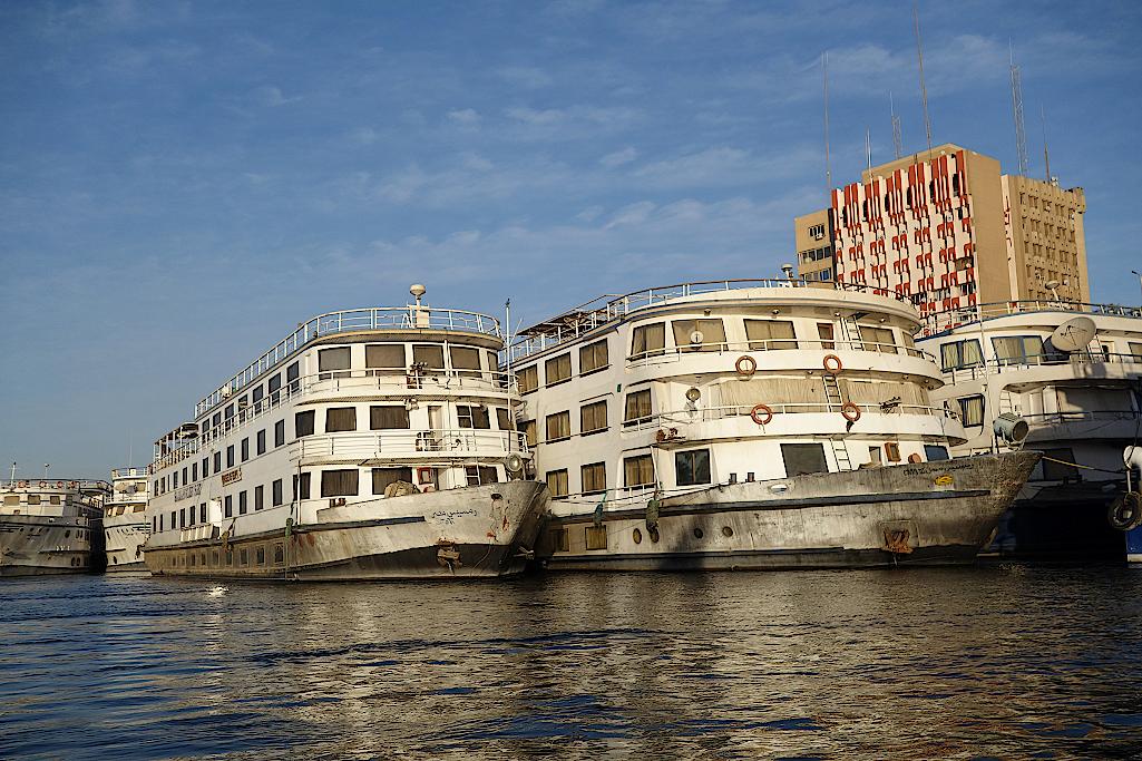 Kreuzfahrtschiffe ohne Passagiere