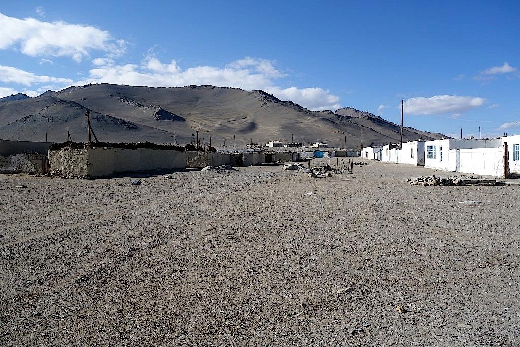 Dorf am Karakul