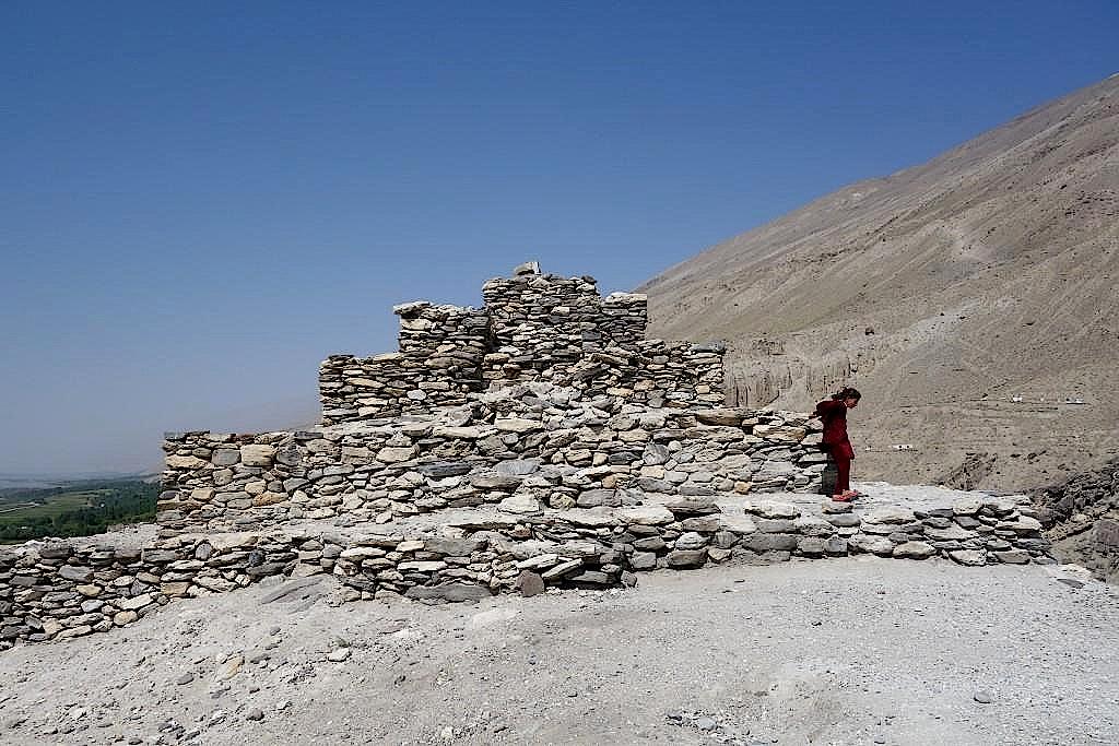 Stupa bei Vrang