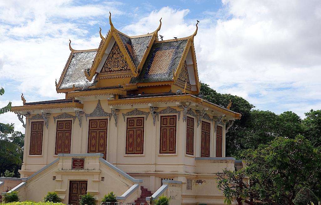 Gebäude auf dem Palastgelände