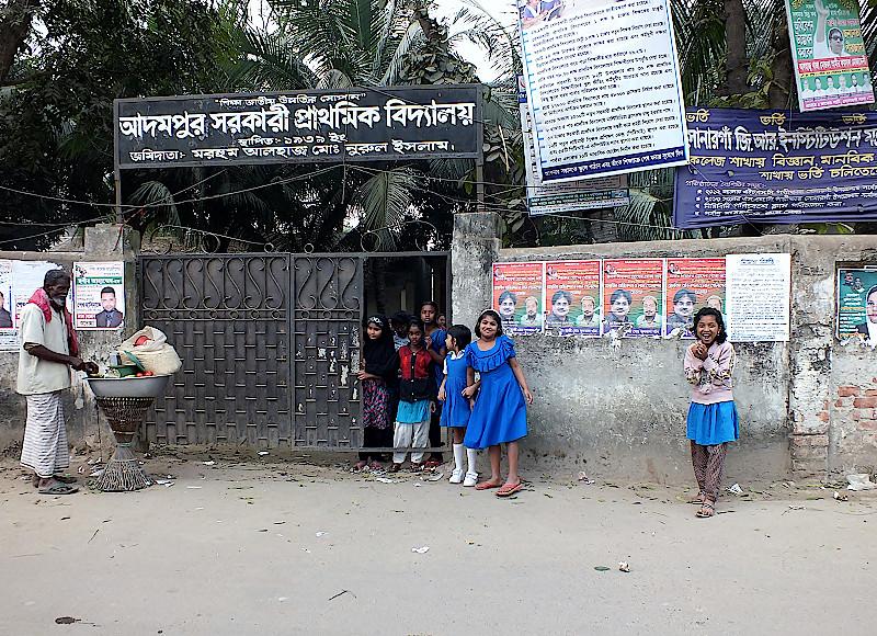 Schule-in-Sonargaon-Bangladesch