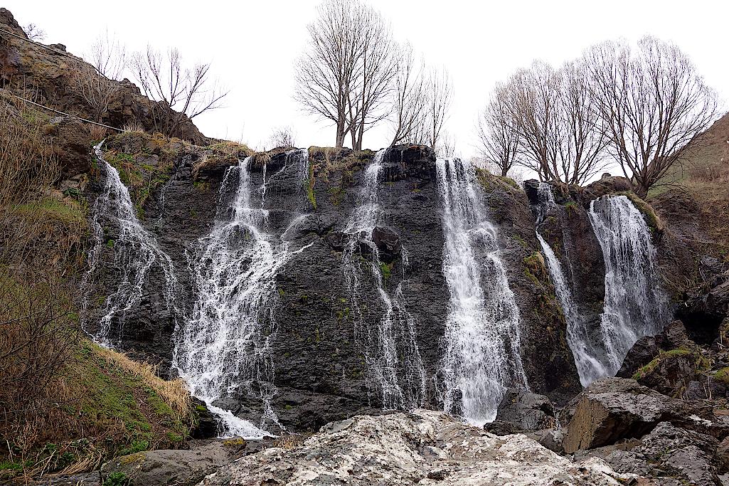 Shaki-Wasserfall-Armenien