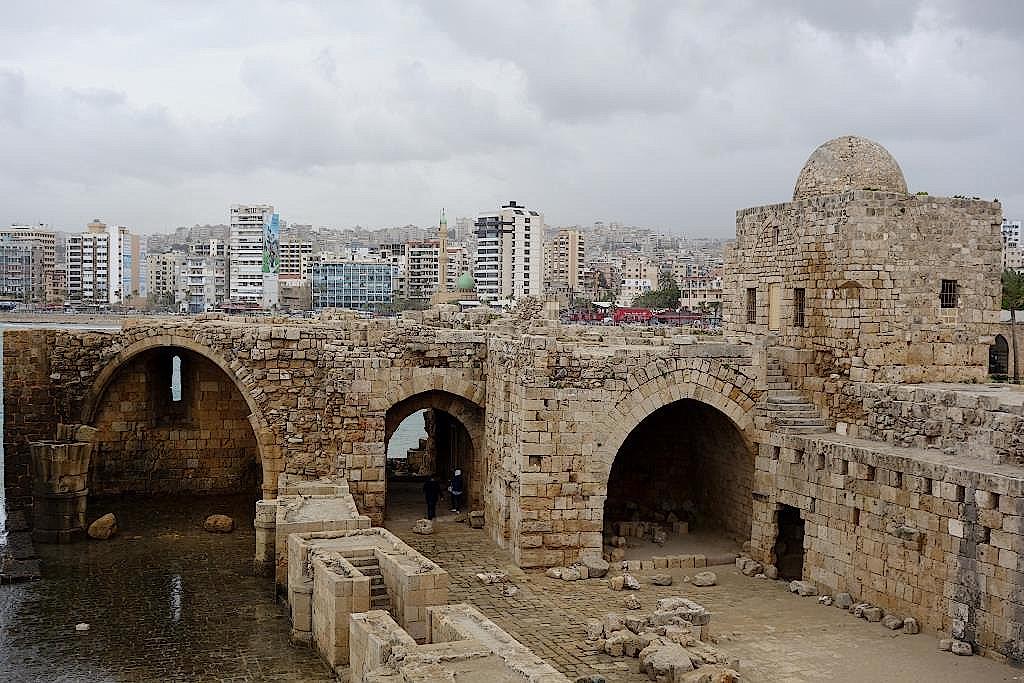 Sidon-Festung-Libanon