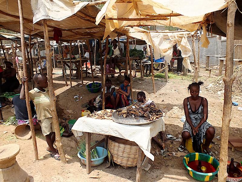Markt in-Kenema