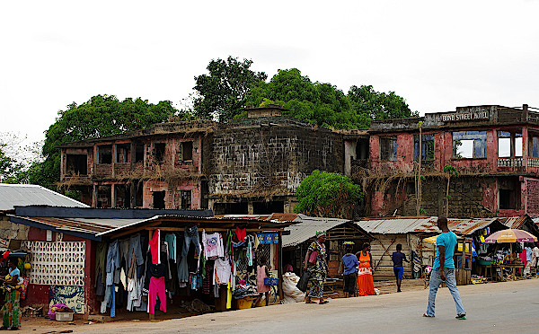 Ruinen aus dem Bürgerkrieg